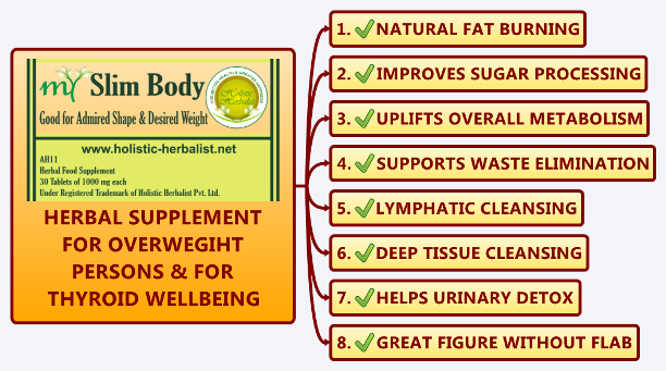 Herbal Supplement for Natural Weight Loss for Obese Persons, Helps to Balance Fat Metabolism and Shed Extra Pounds