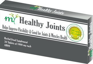 Herbal Supplement for Natural Pain Relief in Joints, Muscles and Nerves, Also Helps to Improve Flexibility